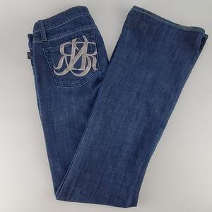 Rock & Republic Woman's Denim Jeans. EUC. Size 28.